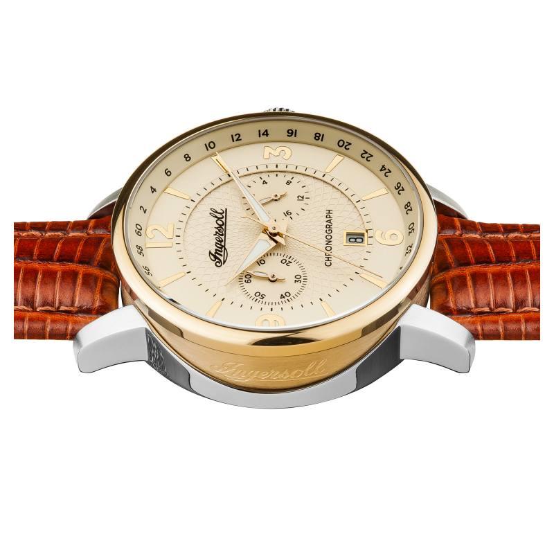 Ingersoll i00603 herrenuhr the grafton chronograph for The grafton